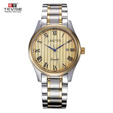 best skeleton watch page 1 versace gold fashion tevise top brand fashion casual stainless steel men mechanical watch skeleton watch for mens automatic wristwatch best gift fashion