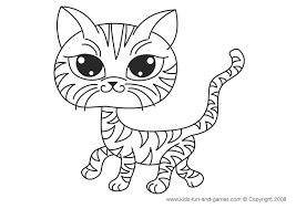 Small Picture Kitten coloring pages free for your kids Cute House Ideas