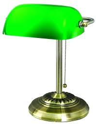 lime green desk lamp uk glass shade bankers traditional style home office library law oil
