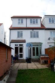 Mansard dormer combined with pitched roof - an alternative to a flat room  box - Loft Conversion in Tring