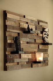 Reclaimed Wood Wall Art Art Made From Wood Reclaimed Wood Wall Art 37x24x5 By