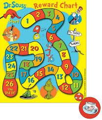 Reward Chart Ideas For Kindergarten Dr Seuss Game Mini Reward Charts