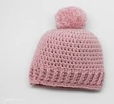 Baby Beanie Crochet Pattern Gorgeous Crochet A Baby Hat Free Pattern Yarnplaza For Knitting