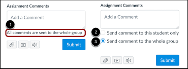 How do I leave feedback comments for student su...   Canvas LMS ...