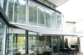 glass door awning sliding quick overview over diy