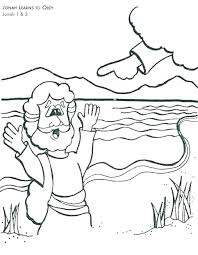 Jonah Coloring Pages X Jonah And The Big Fish Colouring Pages P6604