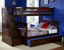 queen bunk bed with trundle.  With Twin Over Queen Bunk Bed With Trundle Related Inside B