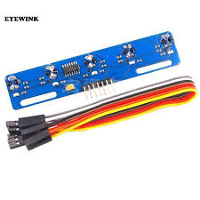 1pcs <b>5 Road Tracing</b> Module Tracking Sensor 5 Channel Road ...