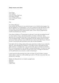 Beautician Cover Letter Perfect Resume