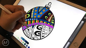 Drawing On Ipad Pro How To Color With The Ipad Pro And Apple Pencil