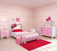 Bedroom:Brilliant Hello Kitty Inspiration Bedroom For Little Girls Amazing  Pink Girls Bedroom Color Scheme