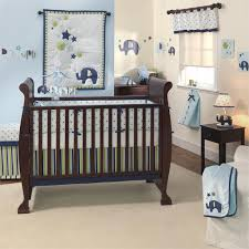 elephant nursery bedding