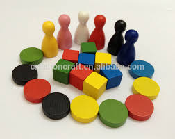 Wooden Game Tokens Custom Board Games Wooden Token Buy Board Games Wooden TokenPalstic