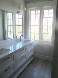 Comfortable Bathroom Mirrors On Frameless Beveled Mirror Wall ...