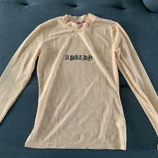 Goodbye Bread Size Chart Goodbye Bread Apathy Nude Mesh Longsleeve Hoes Before Bros