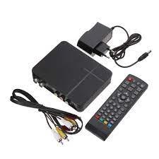 Multilingual WiFi TV Box Digital 3D Media Player Mini HD DVB T2 K2  Terrestrial Receiver W/Remote Control For Audio Photo Player|Set-top Boxes