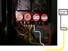 is there an online schematic for dryer hook up to fuse panel here are your two diagrams based on your panel setup if you have any question at all let me know
