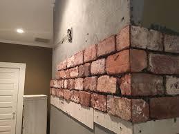 brick veneer fireplace standard