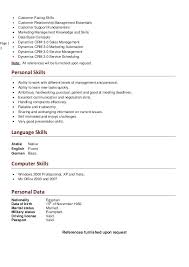 Personal Skills For Resume Impressive Good Personal Skills For Cv Kenicandlecomfortzone