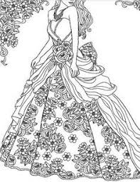 Fancy Dress Coloring Pages Beautiful 111 Best Victorian Coloring