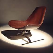 koi isola brown leather swivel chair koi