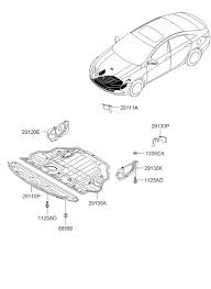 under cover for 2011 hyundai sonata hyundai parts deal 2011 hyundai sonata under cover diagram 2929111