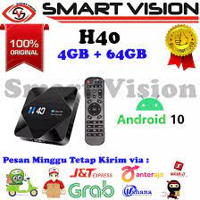 H40 Android TV Box Allwinner H616 RAM 4GB ROM 64GB New Android 10.0 6K