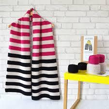 Striped Scarf Knitting Pattern Amazing Inspiration