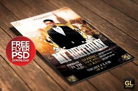 30 psd party flyer templates birthday
