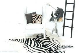 zebra hide rug cowhide or skin rugs print authentic zebra hide rug