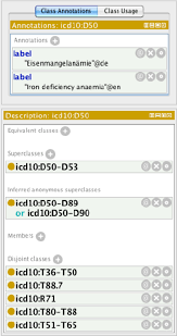 Icd 10 Chart Builder Screenshot Of The Owl Dl Version Of The Icd 10 In The