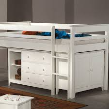childrens fitted bedroom furniture. Cotswold Cabin Bed - White Childrens Fitted Bedroom Furniture N
