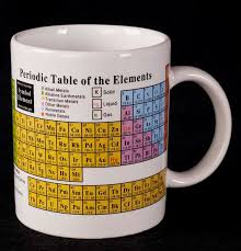 Le Chat Noir Boutique: Periodic Table of Elements Chemistry Coffee ...