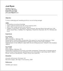 Junior Accountant Resume Sample Accountant Resume Bookkeeper Resume