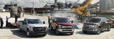 2019 ford super duty lineup tow