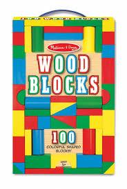 melissa doug wooden blocks 100