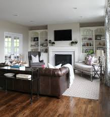 Furniture Layout Ideas : Balance and Symmetry | Couch sofa, Brown leather  and Decorating