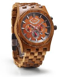 mens wooden watches by jord sawyer series