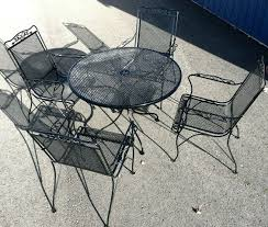 easy paint mesh metal outdoor patio