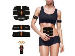 office exercise equipment. Simple Equipment Abdominal Muscle Toner Abs Training Gear Body Fit Toning Belt Wireless  Exercise For Abdomen And Office Equipment