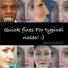 makeup tutorial tips on nose contour this is mad funny notice how everyone is a female with contoured