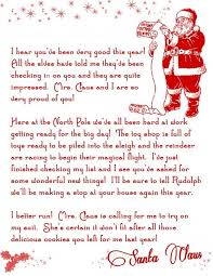 Grab This Free Printable Letter From Santa Santa Letter