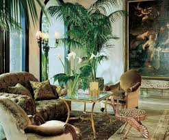 Jungle themed living room: love the greenery and the neutral tones with the  leopard print