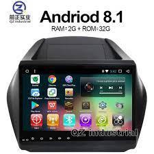 QZ công nghiệp HD 9 inch Android 8.1 T3 Xe máy nghe nhạc DVD cho Hyundai
