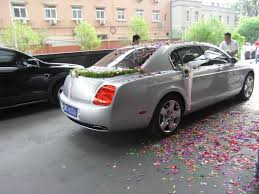 cly wedding car decorations basic ribbons bows and confetti