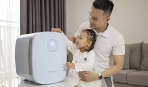 Máy tiệt trùng sấy khô khử mùi bằng tia UV Ecomom 202 Pro Advanced Xanh
