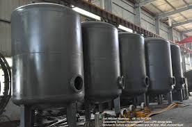 Hcl Naclo Storage Dosing Tanks Carbon Steel Tank Lined Lldpe Corrosion Resistance Sodium Hypochlorite Hydrochloric Acid Vertical 5 50kl Measuring