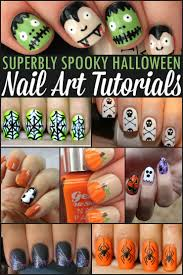 Superbly Spooky Halloween Nail Art Tutorials - Frugal Mom Eh!