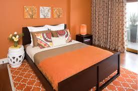 orange wall paintOrange Paint Colors For Bedrooms  House Decor Picture