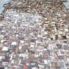 petrified wood slab natural fossil stone polished for slabs countertops